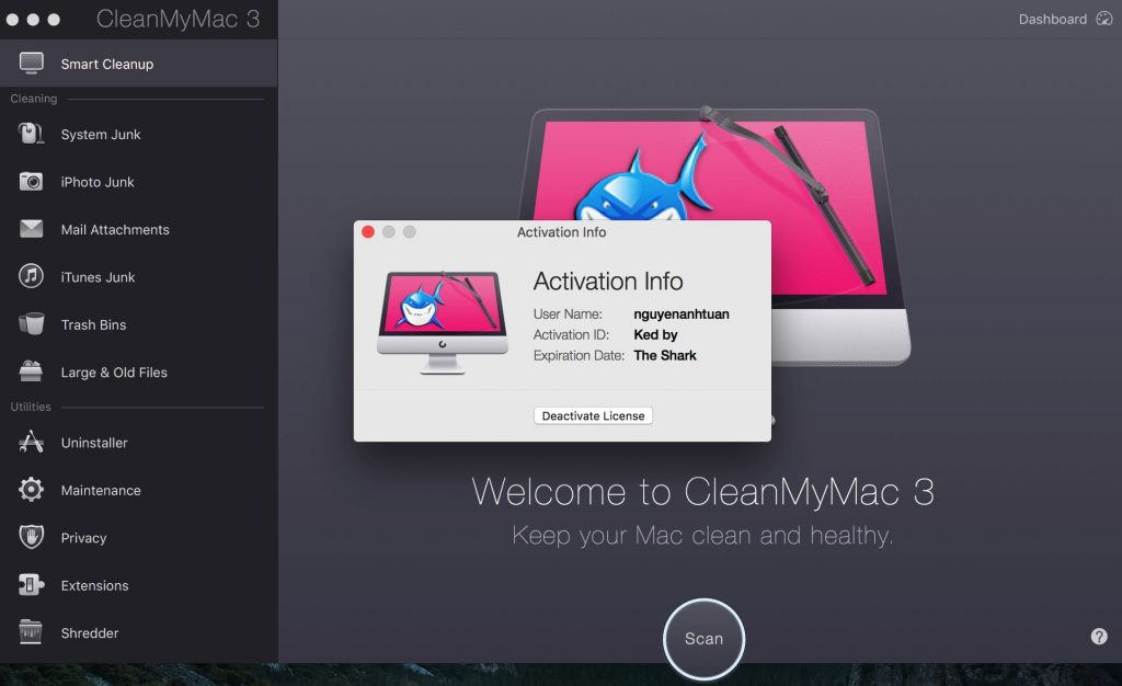 CleanMyMac X 4.5.1 Crack with Activation Number 2020 [Updated]