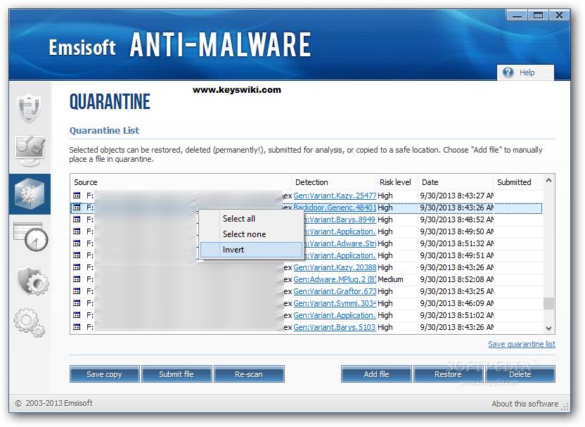 Emsisoft Anti-Malware 2019.10.0.9803 Crack + License Key Free Download