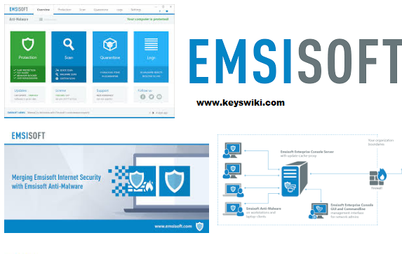 Emsisoft Anti-Malware 2019.10.0.9803 Crack + License Key Free Download