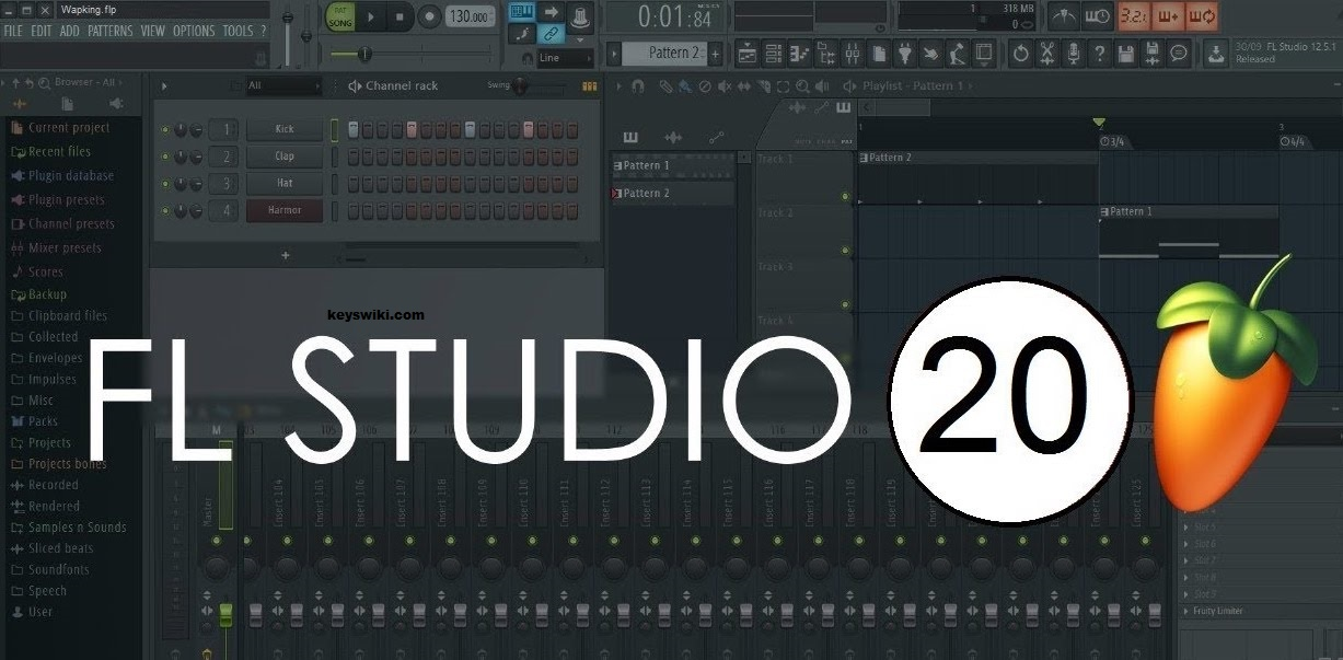 FL Studio 20.5.1.1193 Crack with Reg Key 2020 Full Free Download