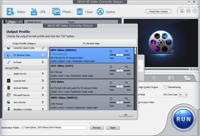 WinX HD Video Converter Deluxe 5.15.5.322 Crack with License Code 2020