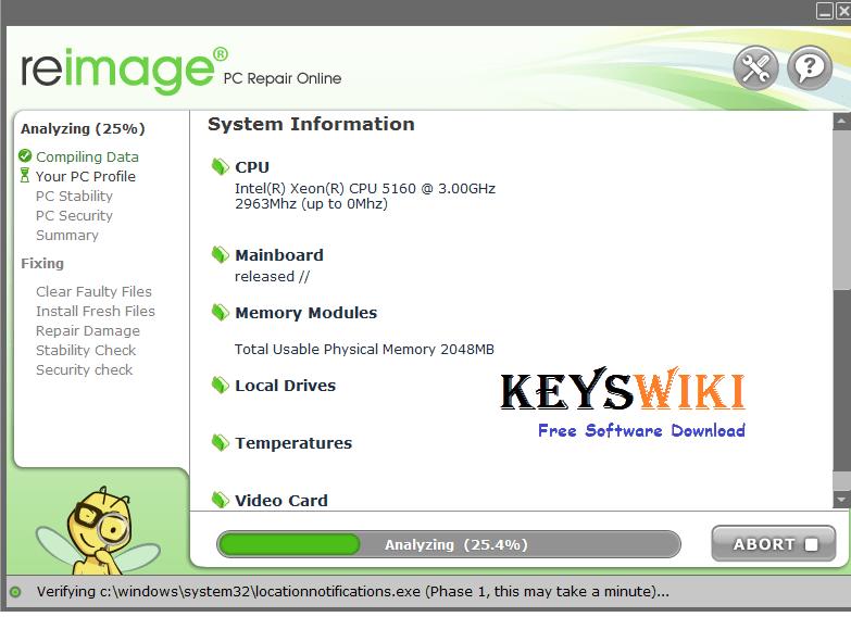 Reimage PC Repair 2020 Crack + License Key Full Version