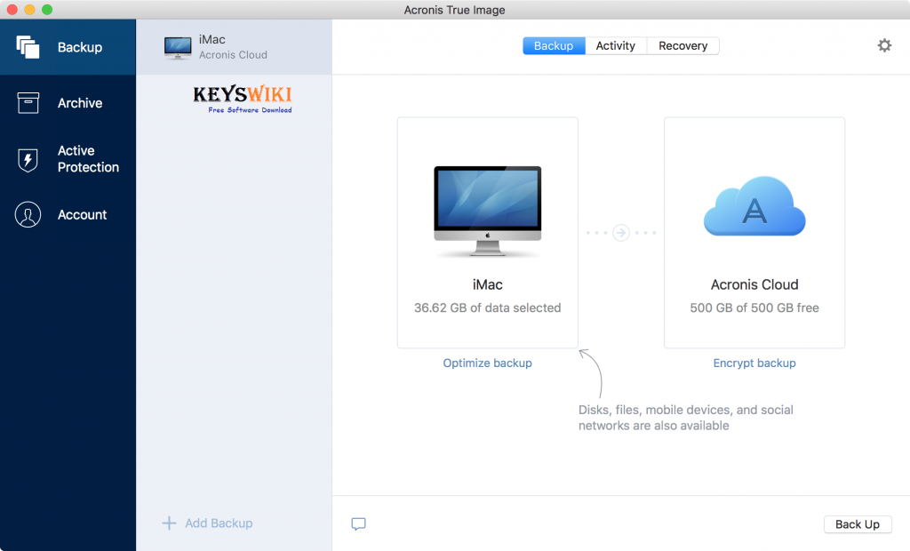 Acronis True Image 2020 Crack + Serial Key with Keygen