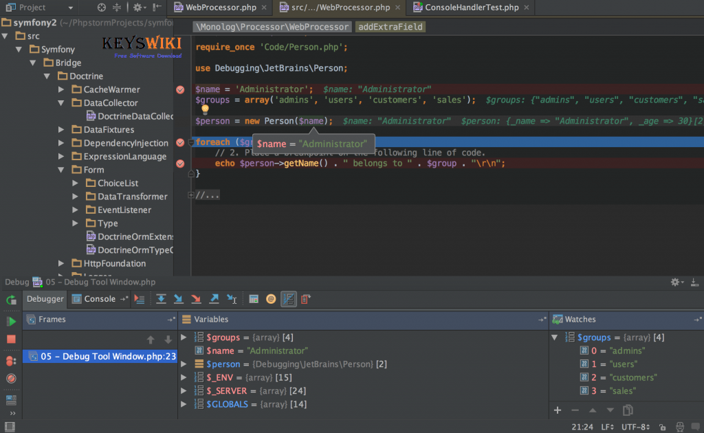 JetBrains PhpStorm 2020.1 Crack + Keygen Download Free Download