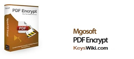 Mgosoft PDF Encrypt Crack