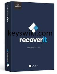 Wondershare Recoverit 9.5.3.18 Crack With Key Latest Download