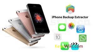 iPhone Backup Extractor 7.7.31.3350 Crack + Keygen Fere Download 2021
