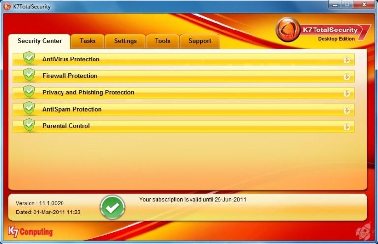 K7 Total Security Crack + Activation Key Free Download (Latest) 2021